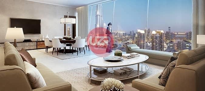 2 Bedroom Flat for Sale in Downtown Dubai, Dubai - Address Opera | High Floor with Sea View