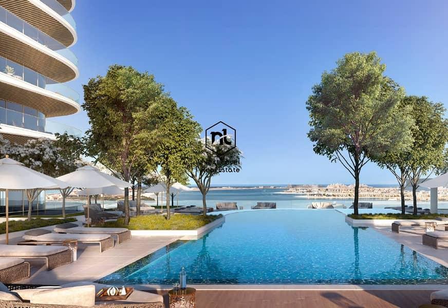 14 Gorgeous  Palm & Sea Views