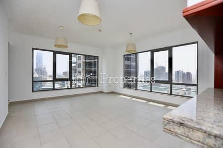 فلیٹ 1 غرفة نوم للبيع في وسط مدينة دبي، دبي - High floor 1BR with Park views I Vacant Now