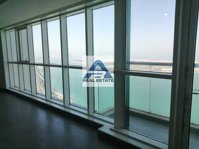 3 Bedroom Apartment for Rent in Corniche Road, Abu Dhabi - Sea View ! Modern Building ! Facilities ! Maids Room