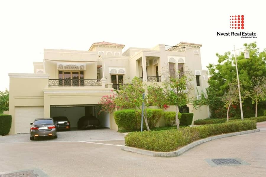 2 Luxurious-6 Bedroom Villa-Fully Furnished-Vacant