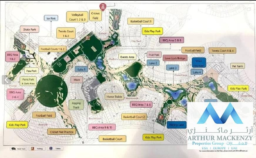15 Full Park Facing Villas | 50% DLD OFF | 2Yrs Post Handover - Damac Hills