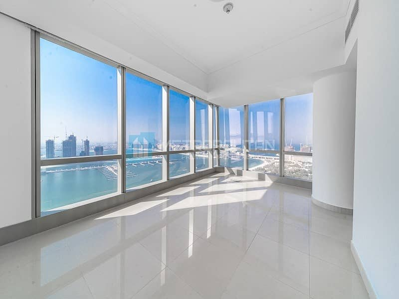 2 4 BR duplex for rent w/ stunning sea and palm view