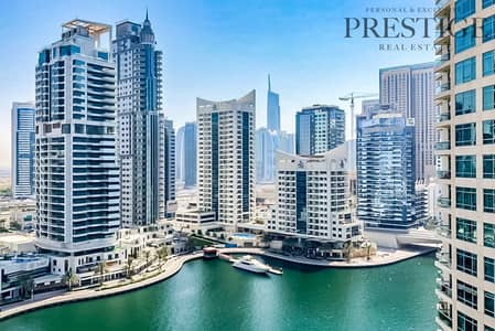 1 Bedroom Flat for Rent in Dubai Marina, Dubai - Furnished 1BR with Full Marina View for Rent
