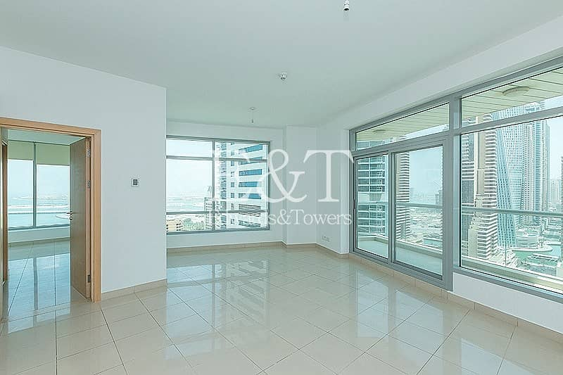 2 Exclusive:High Floor|Panoramic View of Marina and Sea