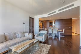 Vacant 2BR Plus Maids | High Floor | Sea View
