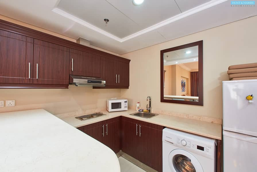 2 Fully Furnished One Bedroom Hotel Apartment - Well Maintained