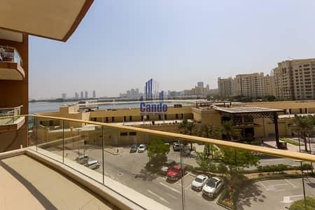 فلیٹ 2 غرفة نوم للايجار في نخلة جميرا، دبي - Massive 2 Bed with Study Room Sea View