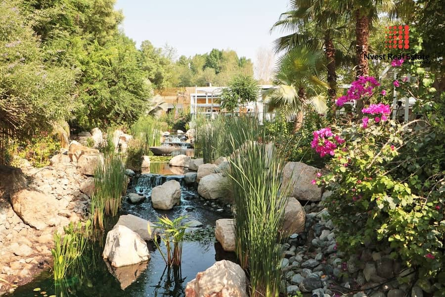 23 Stunning Type B Villa in Al Barari with designed furniture