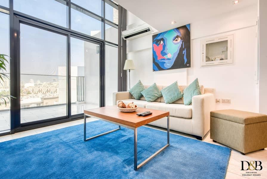2 Elegantly Designed 1 Bedroom Loft in JVC