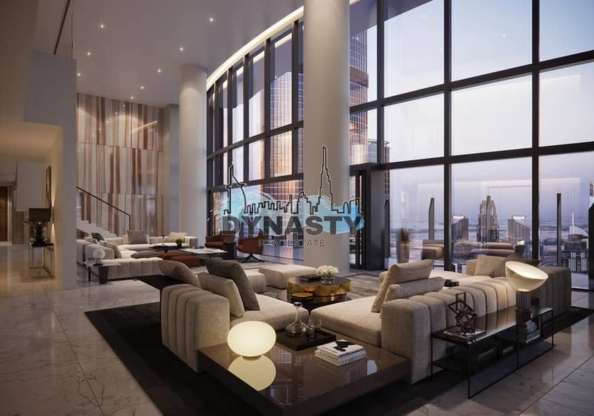 Most Luxurious 4 Bed in Downtown Dubai