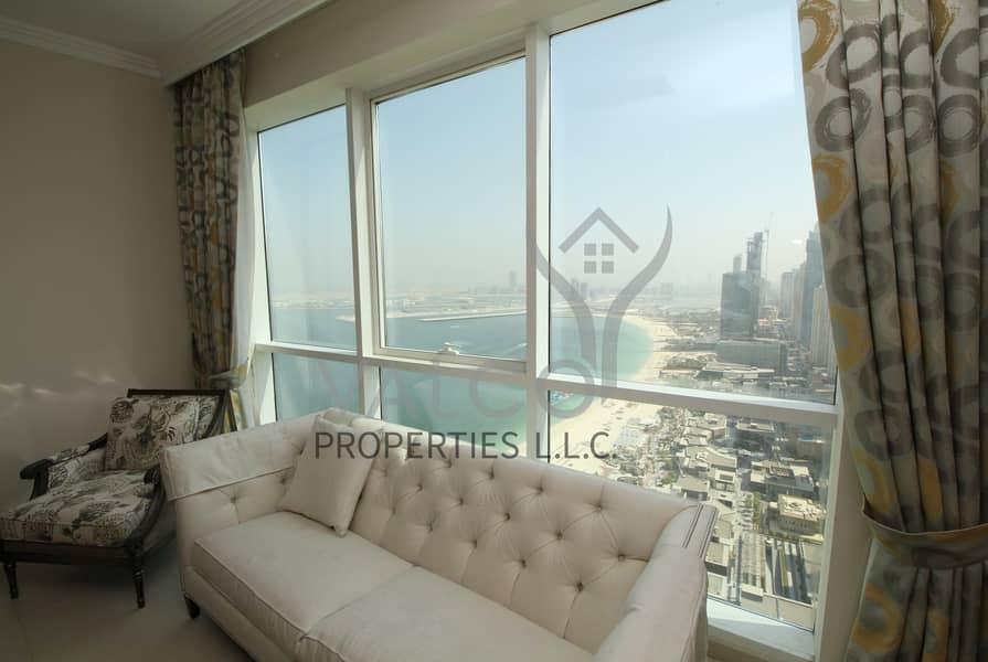 1 Sea and JBR View | A3C Type  | Beach Access