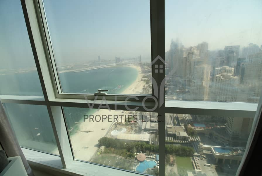 21 Sea and JBR View | A3C Type  | Beach Access