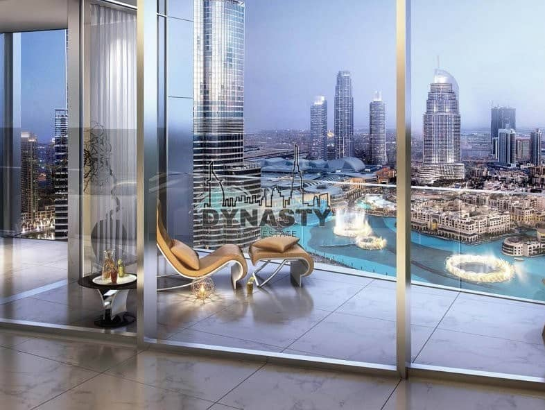 2 Most Luxurious 4 Bed in Downtown Dubai