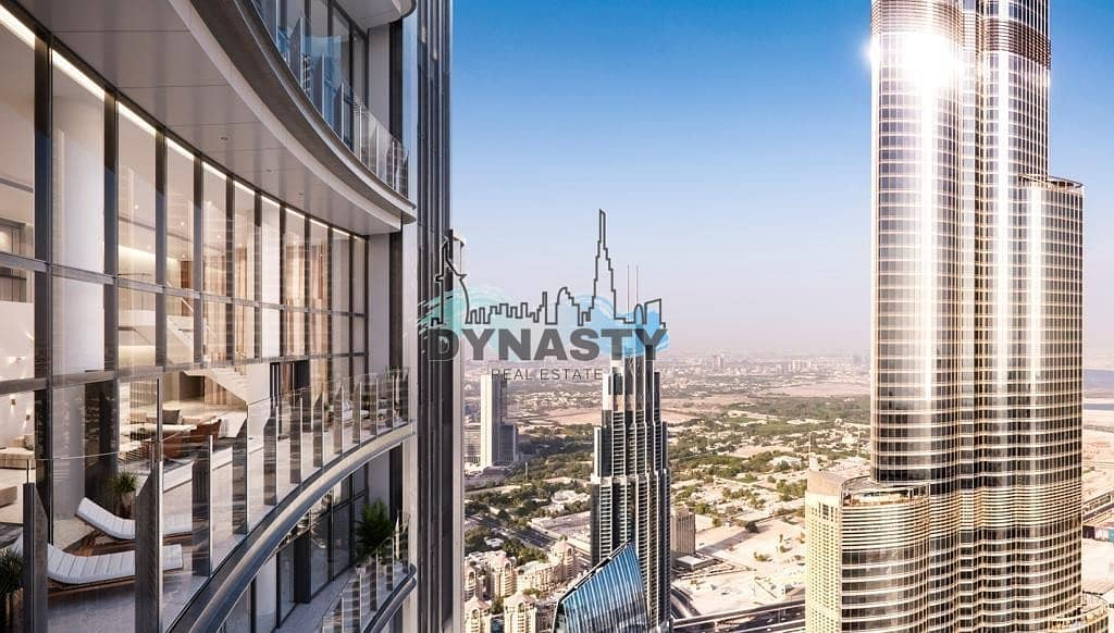 9 Most Luxurious 4 Bed in Downtown Dubai