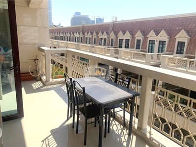 1 Bedroom Flat for Rent in Jumeirah Village Circle (JVC), Dubai - BRIGHTLY FURNISHED | SPACIOUSLY MADE | HUGE BALCONY
