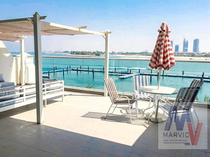 Direct Beach Access/ 1 Bed Apartment for RENT in Azure Residences in Palm Jumeirah