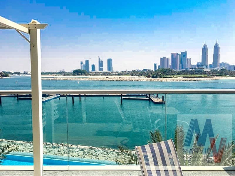 2 Direct Beach Access/ 1 Bed Apartment for RENT in Azure Residences in Palm Jumeirah