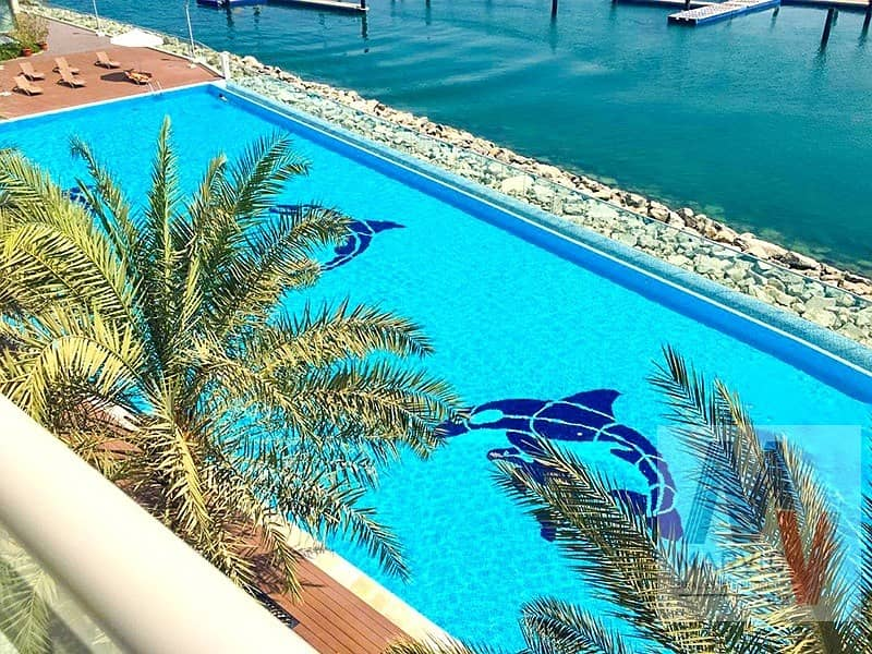 14 Direct Beach Access/ 1 Bed Apartment for RENT in Azure Residences in Palm Jumeirah