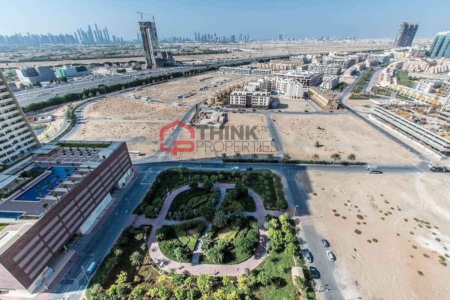 JVC Plot For Sale at AED 35/Sqft Freehold Title