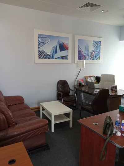 Office for Rent in Deira, Dubai - 300 Sqft Personal Office for only 28000 AED with Ejari With Creek View  Direct from Owner