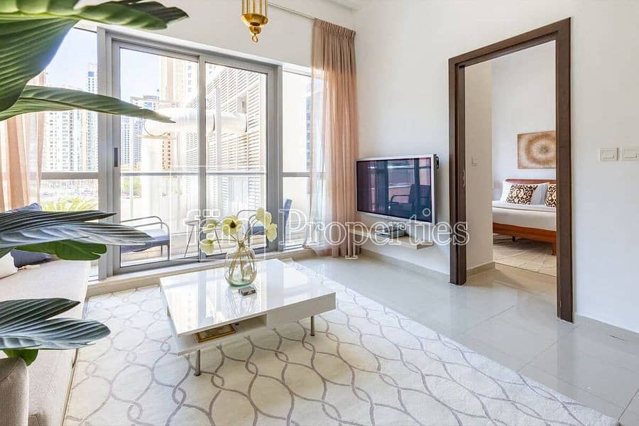 2 1BR in Bay Central With Marina View For Sale