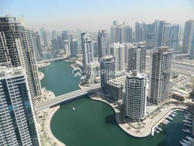 فلیٹ 2 غرفة نوم للايجار في دبي مارينا، دبي - Full Marina View - Great Layout - Chiller Free