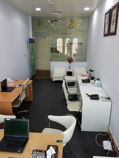 Office for Rent in Deira, Dubai - Fully Furnished | 24999 | Dewa AC inclusive | 300 SQFT | No Commission
