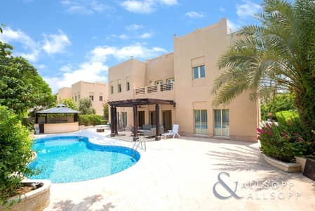 6 Bedroom Villa for Sale in The Meadows, Dubai - Hattan L2 | Extended  | Lake View | 6 Bed