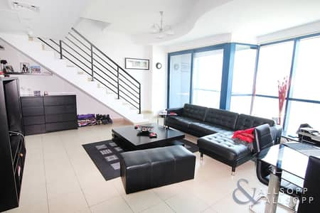 2 Bedroom Apartment for Rent in Jumeirah Lake Towers (JLT), Dubai - Spacious Two Bedroom Duplex | Unfurnished