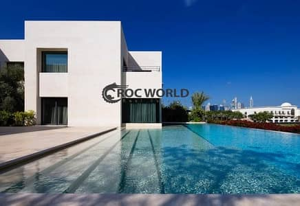 7 Bedroom Villa for Sale in Emirates Hills, Dubai - Full Golf View| Stunning Architecture| Cinema Club