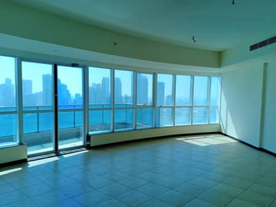 3 Bedroom Apartment for Rent in Corniche Al Buhaira, Sharjah - Iconic View  | All Facilities Free | All Master Luxurious 3BHK in 80k | Panoramic Windows | Al Majaz. .