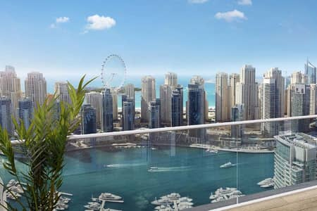 فلیٹ 3 غرف نوم للبيع في دبي مارينا، دبي - Pay till 2025| Yacht club tower|Close to Metro|EMAAR