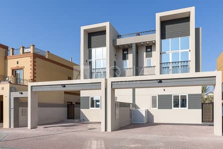 تاون هاوس 3 غرف نوم للايجار في قرية جميرا الدائرية، دبي - New Villa | 3 Bedroom + Maid's | Park View