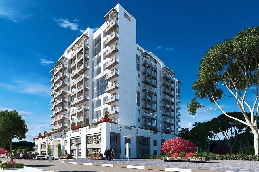 7 Luxurious apt with serviced amenities