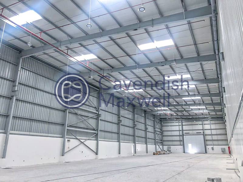 Warehouse with Factory and Store Areas | 3