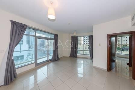 1 Bedroom Apartment for Rent in Dubai Marina, Dubai - Marina View | Spacious | Unfurnished | Bacony