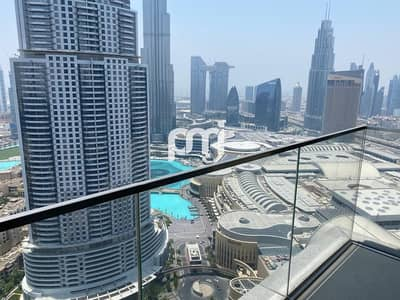 3 Bedroom Flat for Rent in Downtown Dubai, Dubai - Balcony with View |