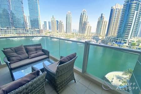 شقة 3 غرف نوم للبيع في دبي مارينا، دبي - Marina View | Vacant On Transfer | 3 Bed