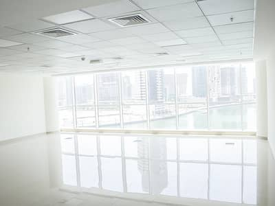 Office for Rent in Business Bay, Dubai - Canal/Burj Khalifa View   Fitted   Low Priced