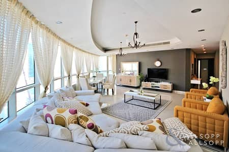 4 Bedroom Apartment for Sale in Dubai Marina, Dubai - Fully Upgraded | Full Marina View | Vacant
