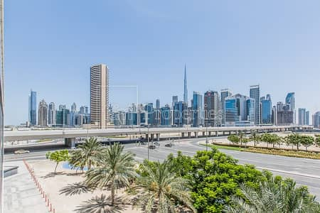 Office for Rent in Business Bay, Dubai - Shell and Core | Burj View | Ultra Modern Building