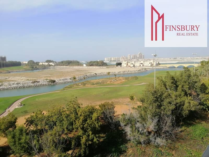 Huge Studio | Golf Apartment | Unfurnished | Relaxing View