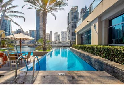 1 Bedroom Apartment for Sale in Dubai Marina, Dubai - Open Kitchen | Water View| Great Investment