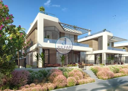 Beautiful 4 BR Beachfront Villa in Mina Al Arab