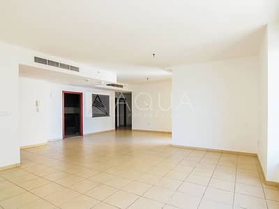 3 Bedroom Apartment for Rent in Jumeirah Beach Residence (JBR), Dubai - 2 Car Parking | Large Unit | Maid's Room