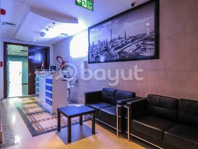 Office for Rent in Deira, Dubai - reception and receiving area
