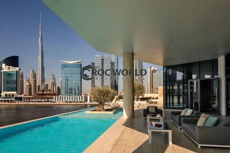 2 Bedroom Flat for Sale in Business Bay, Dubai - Amazing Canal View  Wooden Parkye Flooring  Amazing Layout