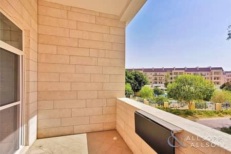 1 Bedroom Flat for Rent in Motor City, Dubai - Ground Floor | One Bedroom | Garden View
