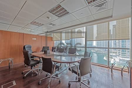 Office for Rent in Jumeirah Lake Towers (JLT), Dubai - Lake View | Partly Furnished Office For Rent | Indigo Icon